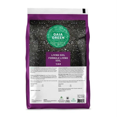 Gaia Green Living Soil - 30 L