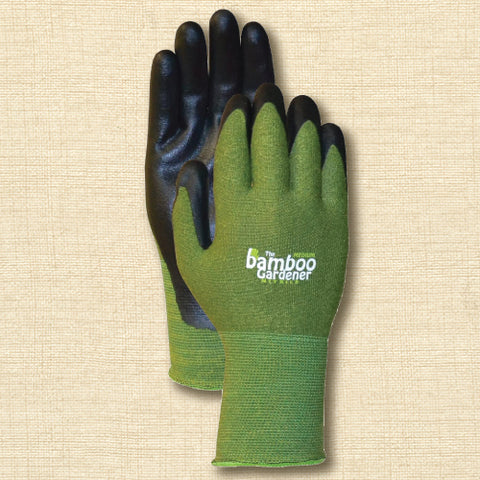 Gardening Gloves - Bamboo Gardener with Nitrile