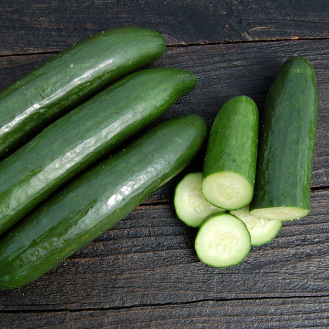 Organic Green Finger Cucumber
