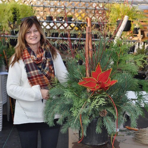 Workshop - D.I.Y. Holiday Planter