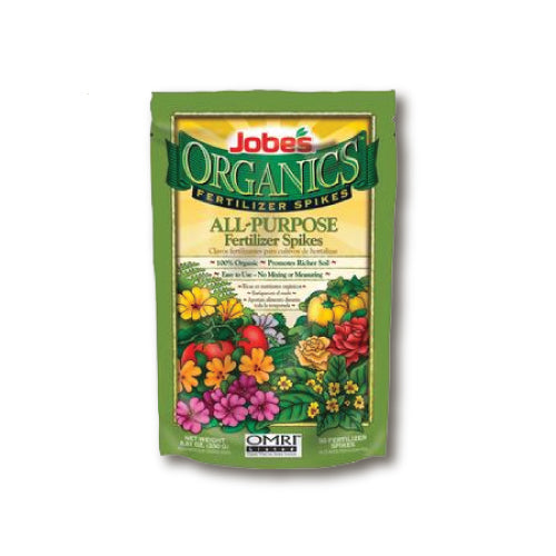 Jobe's Organics  Fertilizer Spikes - All-Purpose 4-4-4