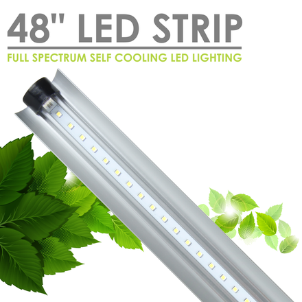 Grow Light - Full Spectrum LED 4' Light Strip