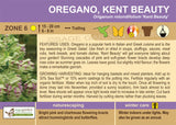 Oregano 'Kent Beauty' (Live Plant)