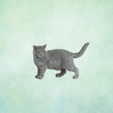 Animal Figurine - Papo Chartreux Cat