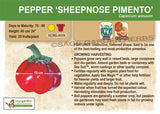 Pepper, (Sheepnose) Pimento (Live Plant)