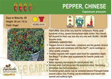 Pepper, Chinese (Live Plant)