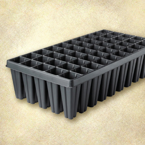 Sureroot 50 Cell Deep Plug Tray - Black
