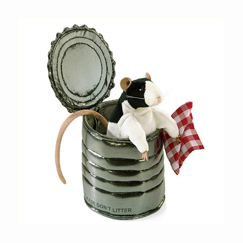 Puppet - Folkmanis Rat in Tin Can