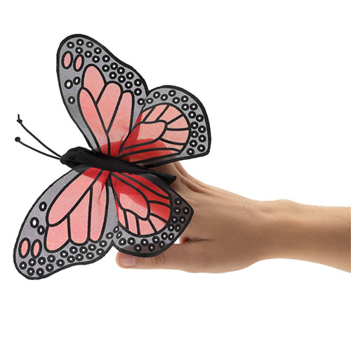 Puppet - Folkmanis Mini Monarch Butterfly (Finger Puppet)