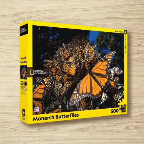 Puzzle - National Geographic - Monarch Butterflies - 500 Pieces