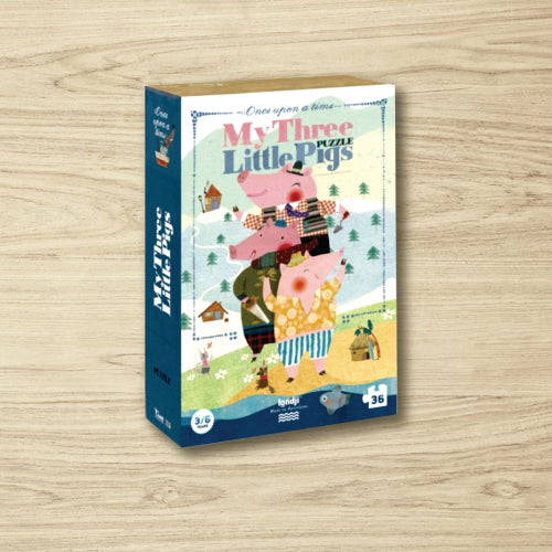 Puzzle - My Three Little Pigs - 36 pieces