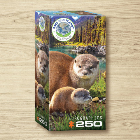Puzzle - Otters- 250 Pieces