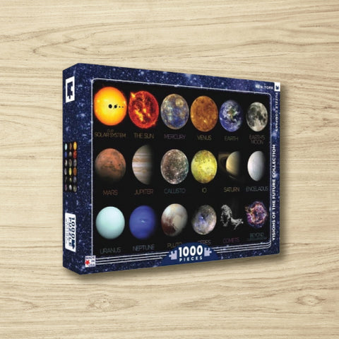 Puzzle - The Solar System - 1000 Pieces