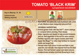Black Krim Tomato at Sage Garden