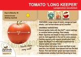 Live Plant - Tomato, Long Keeper Red