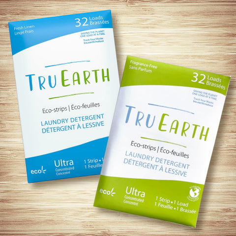 TruEarth Eco-Strips Laundry Detergent - 32 Loads