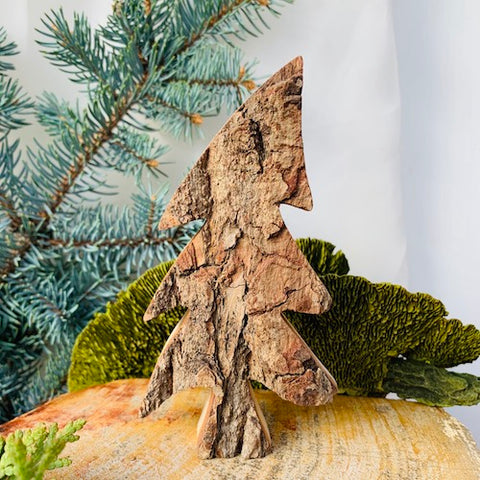 Black Forest Wood Decor Piece - Tree
