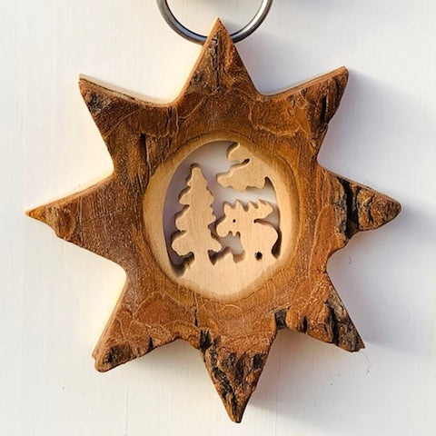 Black Forest Wood Ornament - Wall Ornament