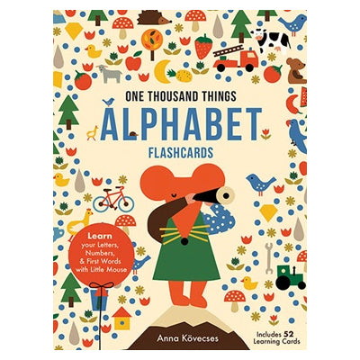 Little Mouse's Alphabet Learning Cards