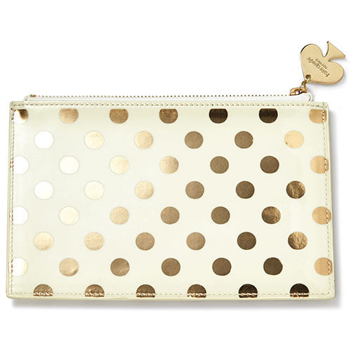 Pouch - Gold Dots