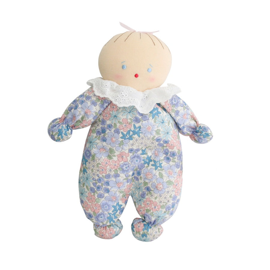 Asleep Awake Baby Doll - Liberty Blue