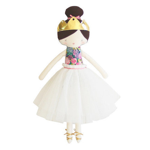 Princess Amelie Doll - English Garden Navy