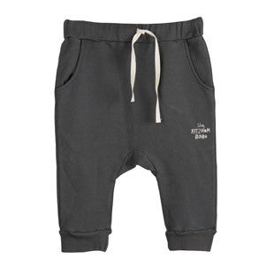 Bobo Choses Trousers - Petit Monster Black