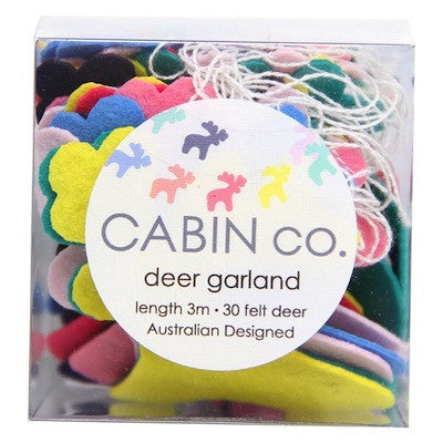 Rainbow Deer Garland