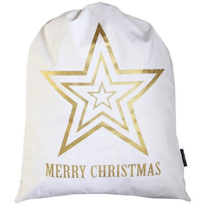 Santa Sack - Gold Star