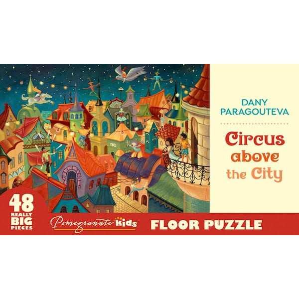 Circus Above the City 48 Piece Puzzle