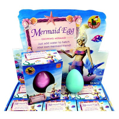 Growing Mermaid Egg