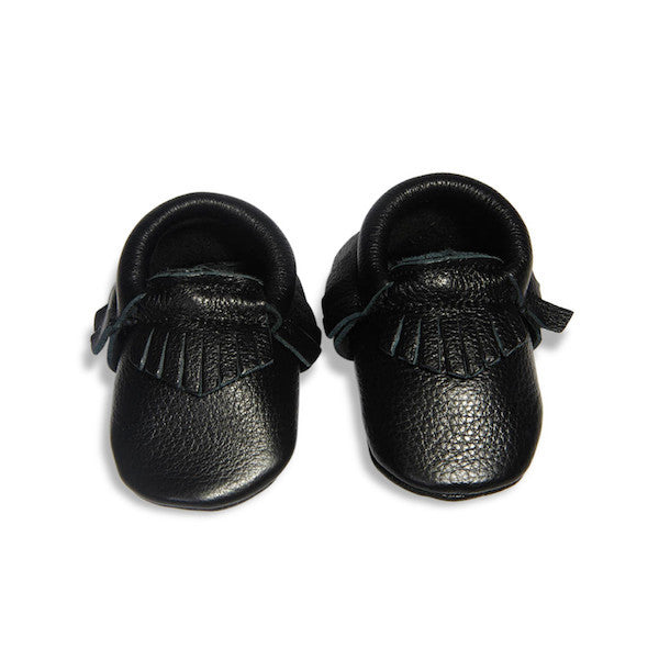 Leather Baby Moccasins