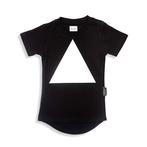 Big Triangle Drop Back Tee