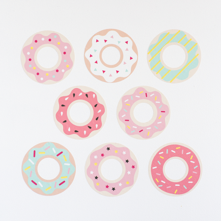Donuts Wall Stickers