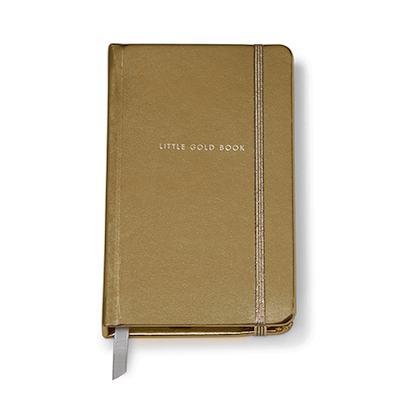 Notebook Medium - Gold