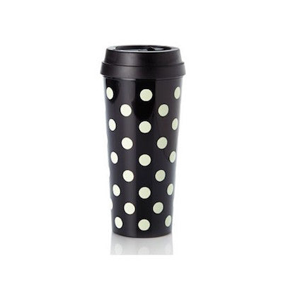 Thermal Mug Black Dots