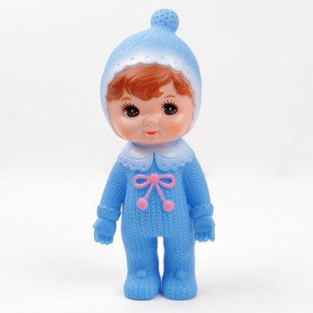 Woodland Doll Blue with Beanie