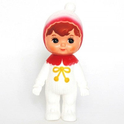 Woodland Doll Snow Baby Red