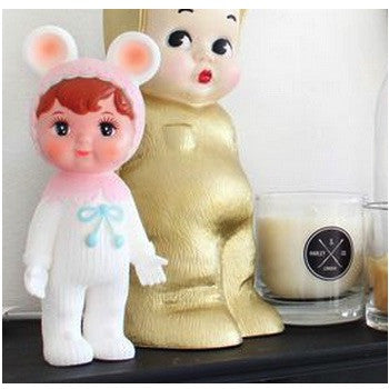 Woodland Doll Snow Baby - Pale Pink