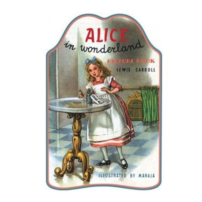 Alice in Wonderland Shape Book