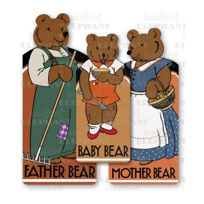 Bear Family Shape Book