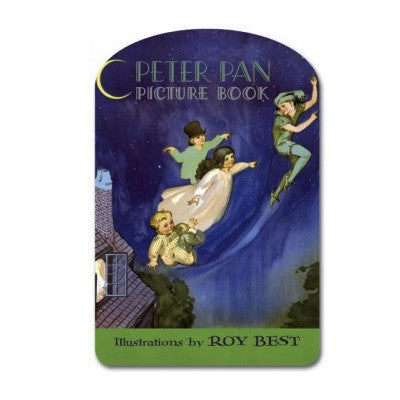 Laughing Elephant Peter Pan Shape Book