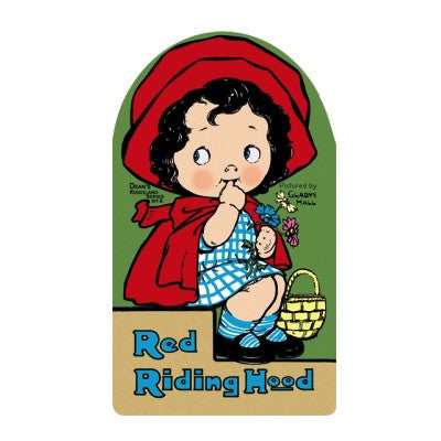 Laughing Elephant Red Riding Hood Shape Book