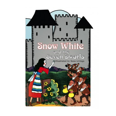 Laughing Elephant Snow White and the Seven Dwarves Shape Book