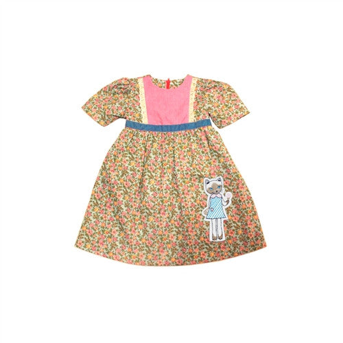 Misha Lulu Peach Lula Ice cream Dress