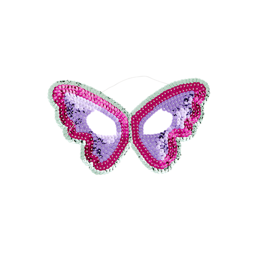 Kids Sequin Butterfly Mask