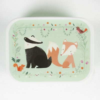 Snack Box Badger & Fox Green