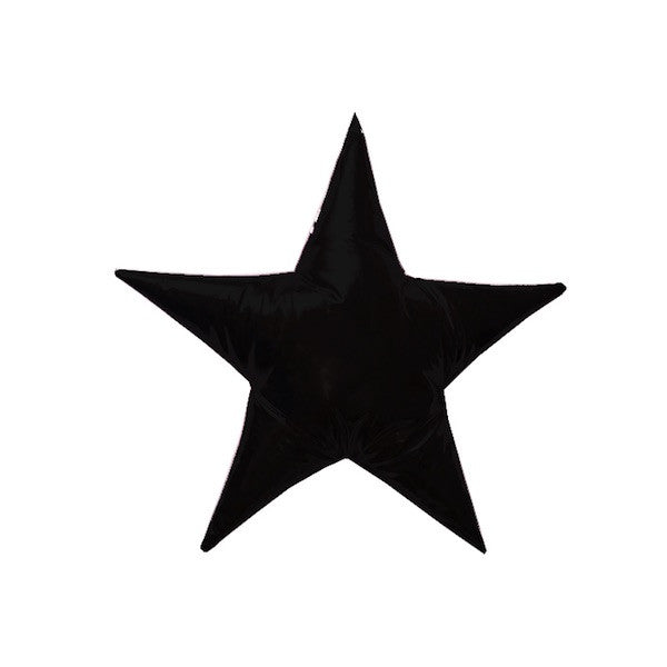 Star Cushion Black
