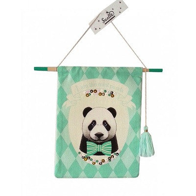 Wall Hanging Mint Panda