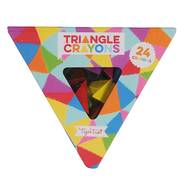 Crayon Pack - Triangles